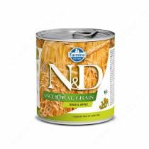 Консервы Farmina N&D Ancestral Grain Boar & Apple Adult Dog, 285 г