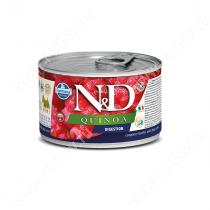 Консервы Farmina N&D Quinoa Digestion Adult Dog Mini, 140 г
