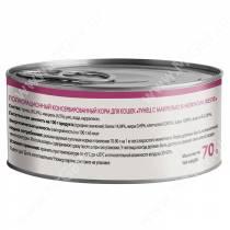 Консервы Мнямс для кошек Тунец с макрелью в нежном желе, 70 г