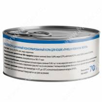 Консервы Мнямс для кошек Тунец в нежном желе, 70 г