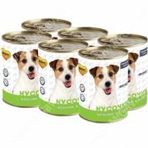 Консервы Мнямс для собак Фитнес (кусочки в соусе с кроликом), 400 г