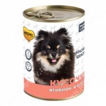 Консервы Мнямс для собак Красивая шерсть (кусочки в соусе с ягненком), 400 г