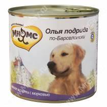 Консервы Мнямс для собак Олья Подрида по-Барселонски (мясное ассорти с морковью), 600 г