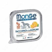 Консервы Monge Dog Monoprotein Fruits (Паштет из индейки с цитрусовыми)