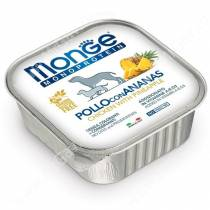 Консервы Monge Dog Monoprotein Fruits (Паштет из курицы с ананасом), 150 г