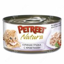Консервы Petreet куриная грудка с креветками, 70 г