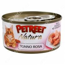 Консервы Petreet кусочки розового тунца, 70 г