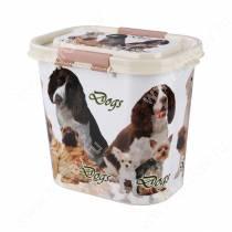 Контейнер Dogs для корма, 10 л