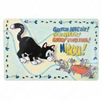 Коврик под миску Trixie, Кошка, 24542, 44 см*28 см