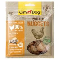 Лакомство для собак Gimdog, наггетсы из курицы, 55 г
