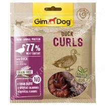 Лакомство для собак Gimdog, спиральки из утки, 55 г