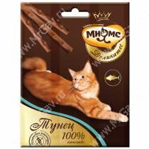 Лакомство Мнямс Деликатес палочки для кошек с тунцом, 3 шт.