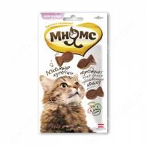 Лакомство Мнямс Pro Pet кусочки для кошек в форме рыбок с лососем
