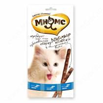 Лакомство Мнямс Pro Pet палочки для кошек с лососем и форелью, 13,5 см, 3 шт.