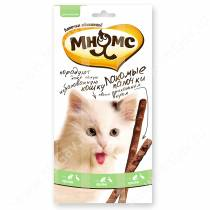 Лакомство Мнямс Pro Pet палочки для кошек с уткой и кроликом, 13,5 см, 3 шт.