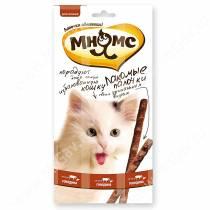 Лакомство Мнямс Pro Pet палочки для кошек с говядиной и печенью, 13,5 см, 3 шт.