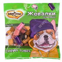 Лакомство Мнямс Жевалки для собак Chewy Tubes с курицей