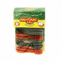 Лакомство Мнямс Зубная щетка с водорослями, 9 см, 6 шт.