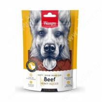 Лакомство Wanpy Dog соломка из вяленой говядины, 100 г