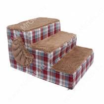 Лестница для собак, 55 см*40 см*30 см, красная