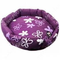Лежанка Comfy Vanessa Light, 50 см*50 см*13 см, фиолетовая
