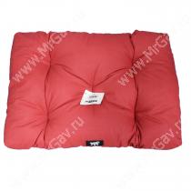 Матрац Soffy, 64 см*40 см*10 см, серо-красная
