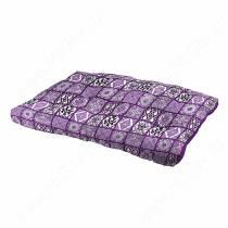 Матрац Soffy, 80 см*50 см*10 см, фиолетовые снежинки
