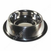 Миска металлическая на резинке 1,8 л