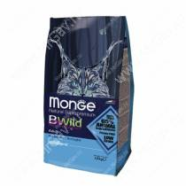 Monge Cat Bwild Anchovies (Анчоусы), 10 кг
