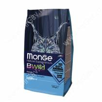 Monge Cat Bwild Anchovies (Анчоусы), 1,5 кг