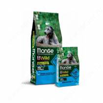 Monge Dog All Breeds Bwild Grain Free (Анчоус), 12 кг