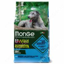 Monge Dog All Breeds Bwild Grain Free (Анчоус)