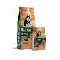 Monge Dog All Breeds Bwild Grain Free (Лосось), 12 кг