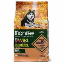 Monge Dog All Breeds Bwild Grain Free (Лосось)