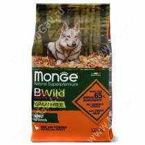 Monge Dog All Breeds Bwild Grain Free (Утка)