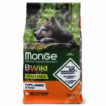Monge Dog All Breeds Bwild Grain Free Puppy&Junior (Утка)