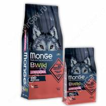 Monge Dog All Breeds Bwild Low Grain Wild Deer (Оленина)
