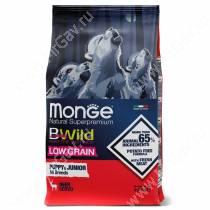 Monge Dog All Breeds Bwild Low Grain Puppy&Junior Wild Deer (Оленина)