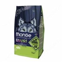 Monge Dog All Breeds Bwild Wild Boar (Дикий кабан), 7,5 кг