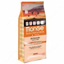 Monge Dog All Breeds Grain Free (Утка с картофелем)