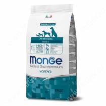 Monge Dog All Breeds Speciality Hypoallergenic (Гипоаллергенный лосось с тунцом)