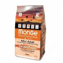 Monge Dog Mini Adult Grain Free (Утка с картофелем), 2,5 кг