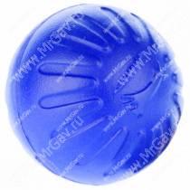 Мяч из вспененной резины StarMark Fantastic Foam Ball, большой, синий