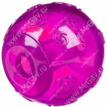 Мяч Kong Squeezz, очень большой, фиолетовый