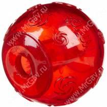 Мяч Kong Squeezz, очень большой, красный