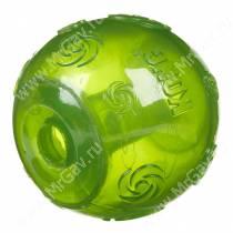 Мяч Kong Squeezz, очень большой, зеленый