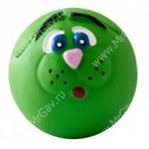 Мяч-мордочка Major, латекс, 10 см