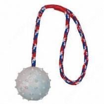 Мяч на веревке Major, резина, 8 см