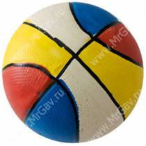 Мяч разноцветный Major, латекс, 7,3 см