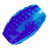 Мяч регби Kong Squeezz, средний, синий